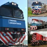 Collage Trenes Argentinos y open access